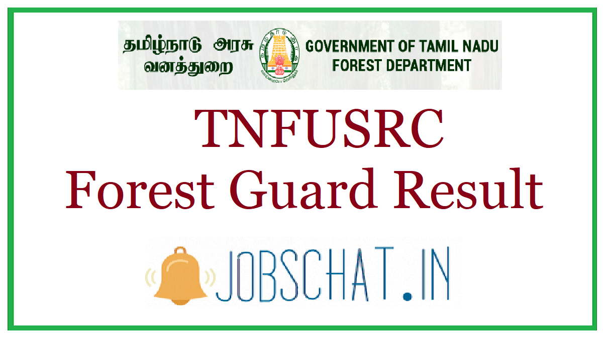 TNFUSRC Forest Guard Result