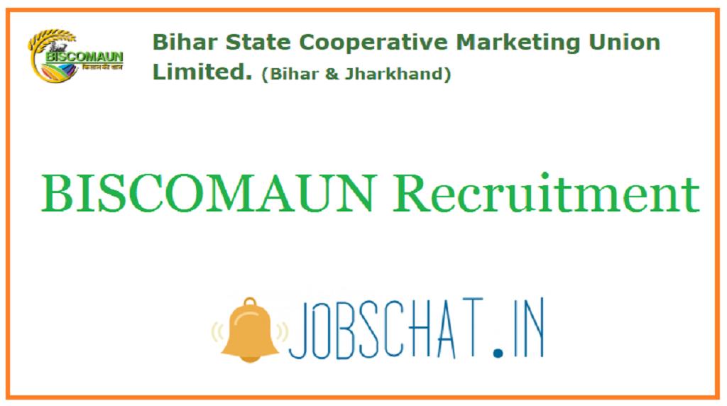 BISCOMAUN Recruitment