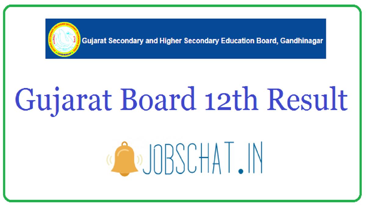 Gujarat Board 12th Result