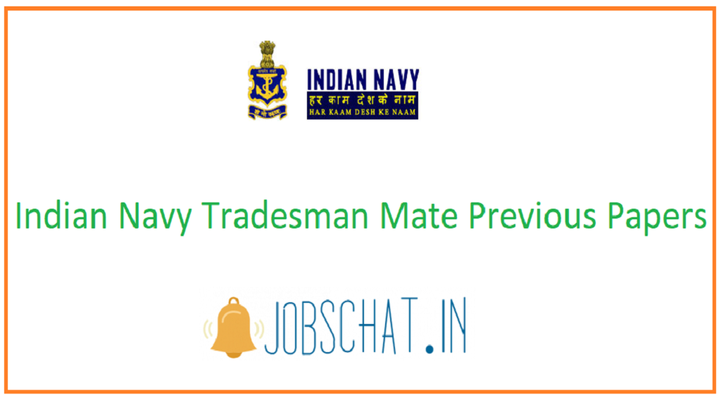 Indian Navy Tradesman Mate Previous Papers