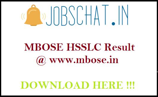 MBOSE HSSLC Result