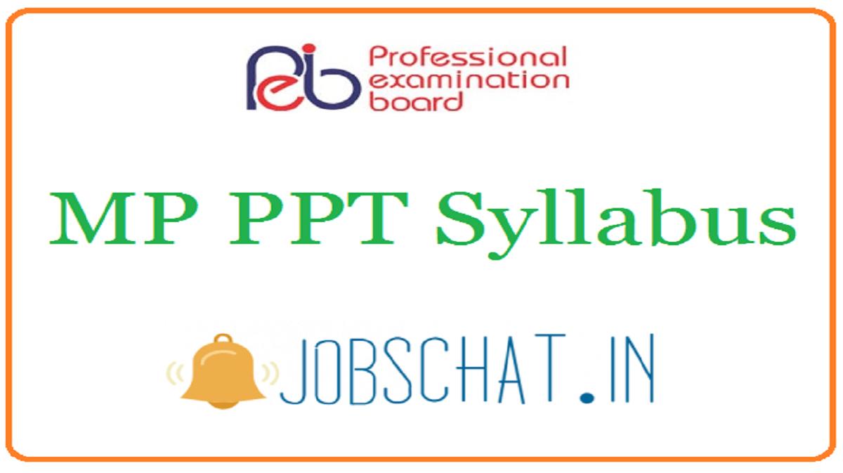 MP PPT Syllabus