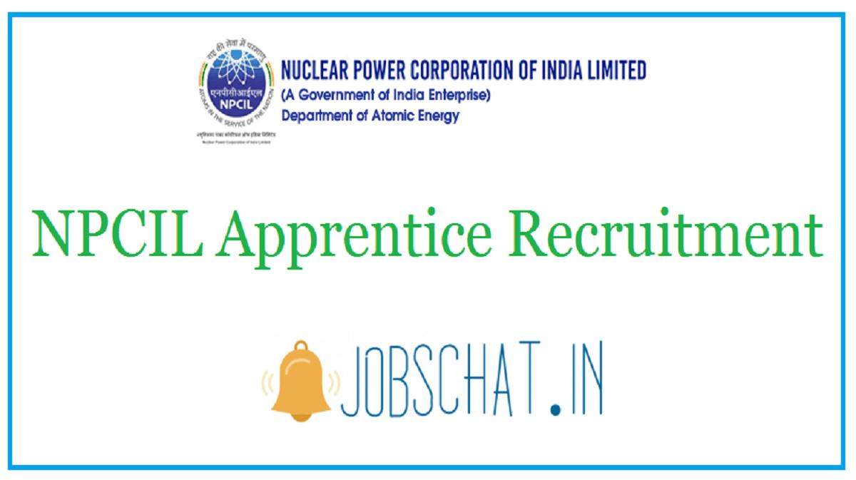 NPCIL Apprentice Recruitment