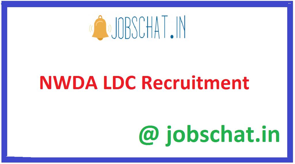 NWDA LDC Recruitment
