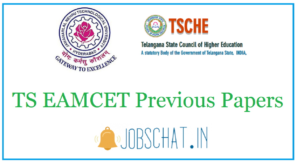 TS EAMCET Previous Papers