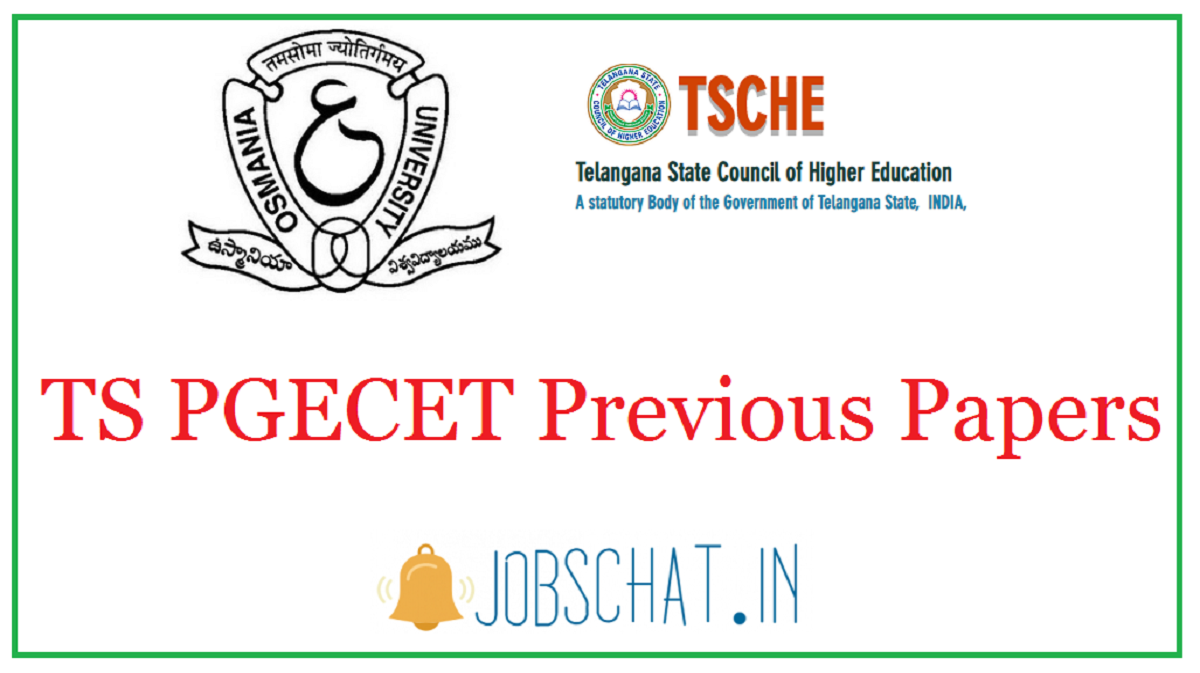 TS PGECET Previous Papers