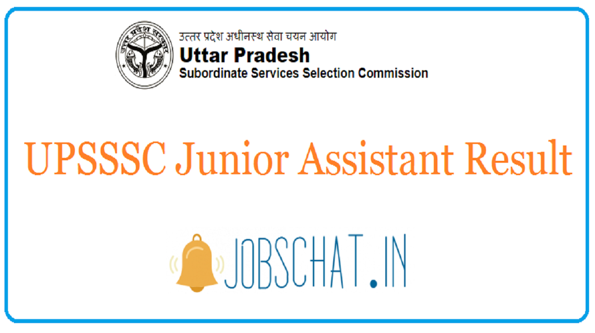 UPSSSC Junior Assistant Result