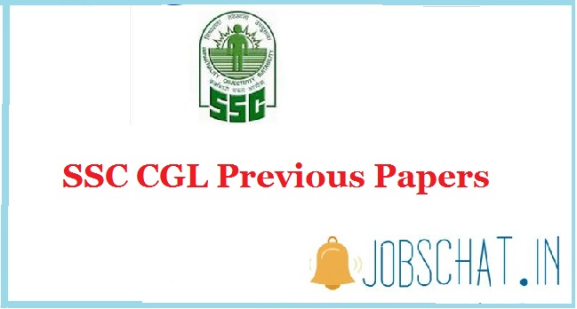 SSC CGL Previous Papers
