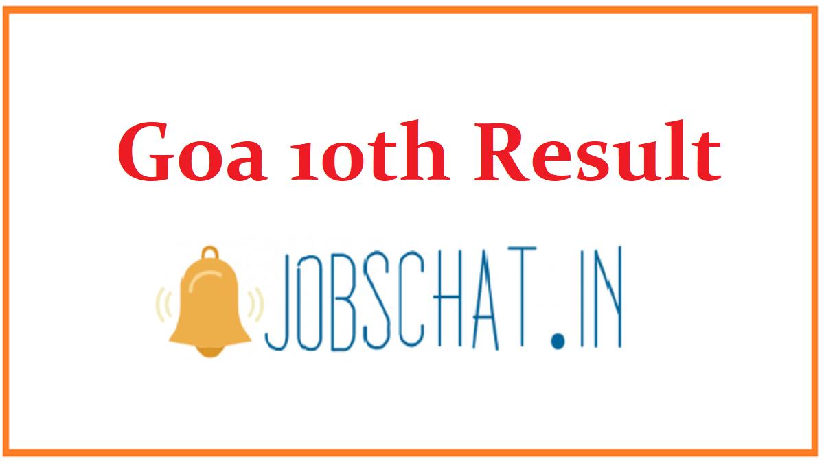 Goa 10th Result