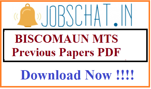 BISCOMAUN MTS Previous Papers