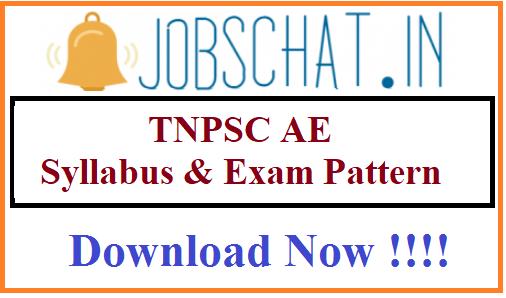 TNPSC AE Syllabus