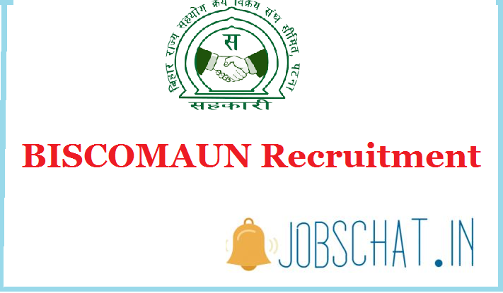 BISCOMAUN MTS Recruitment 2019