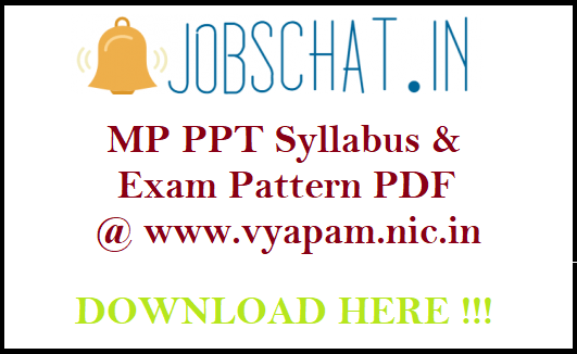 MP PPT Syllabus