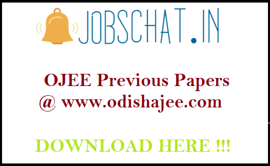 OJEE Previous Papers