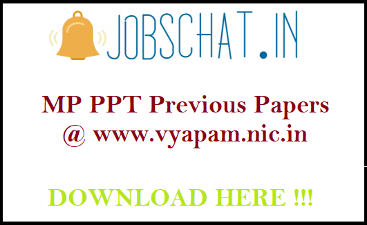 MP PPT Previous Papers