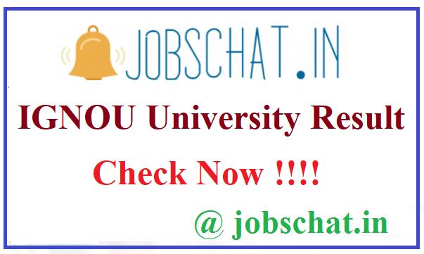 IGNOU University Result