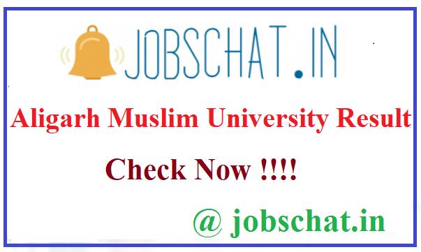 Aligarh Muslim University Result