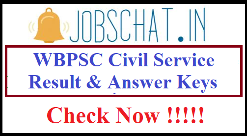 WBPSC Civil Service Result