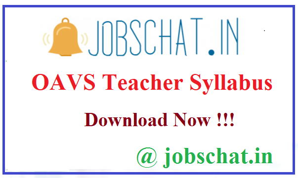 OAVS Teacher Syllabus