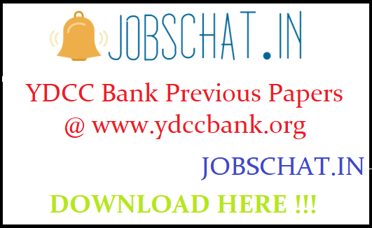 YDCC Bank Previous Papers