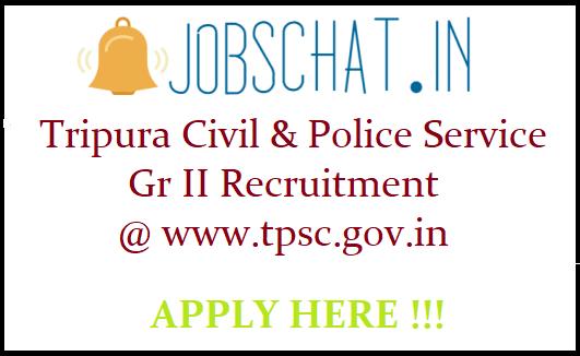 Tripura Civil Service Recruitment