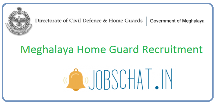 Meghalaya Home Guard Recruitment