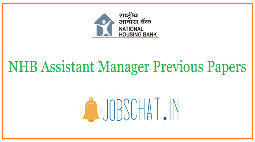 NHB Assistant Manager Previous Papers