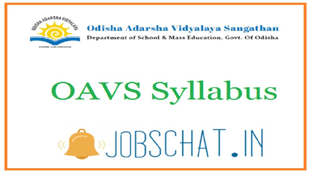 OAVS SYllabus