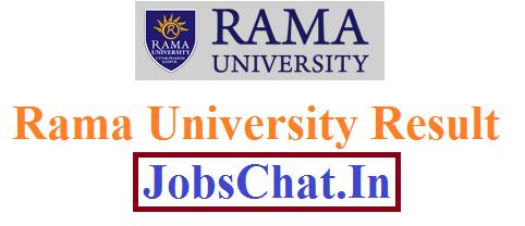 Rama University Result