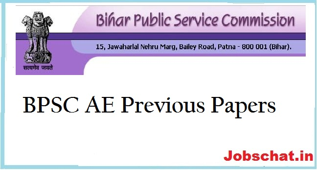 BPSC AE Previous Papers | Civil & Electrical Question Papers PDF