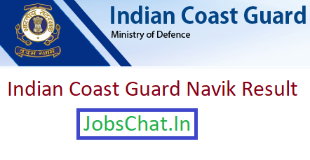 Indian Coast Guard Navik Result