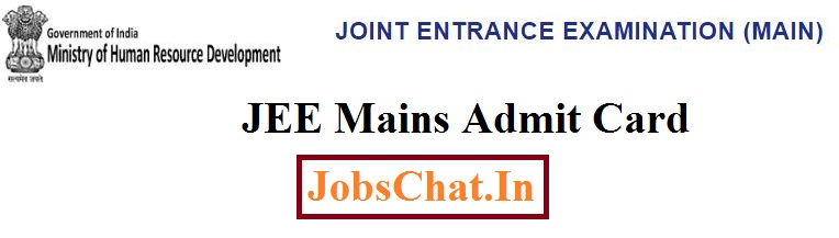 JEE Mains Admit Card