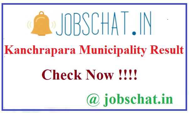 Kanchrapara Municipality Result