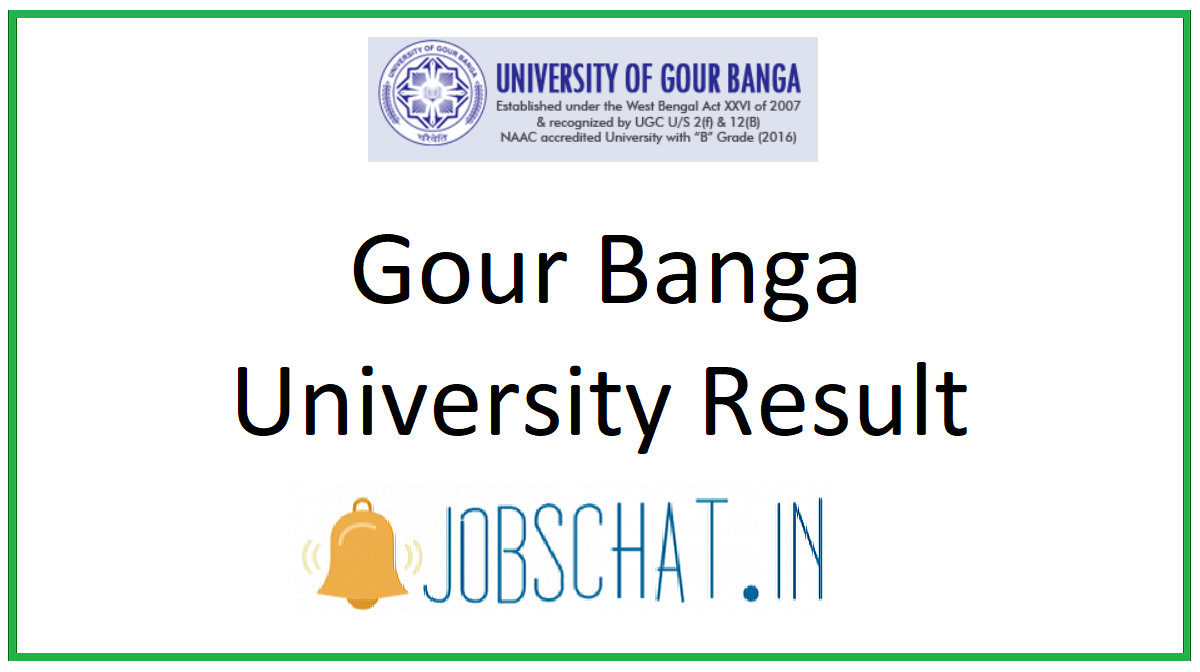 Gour Banga University Result