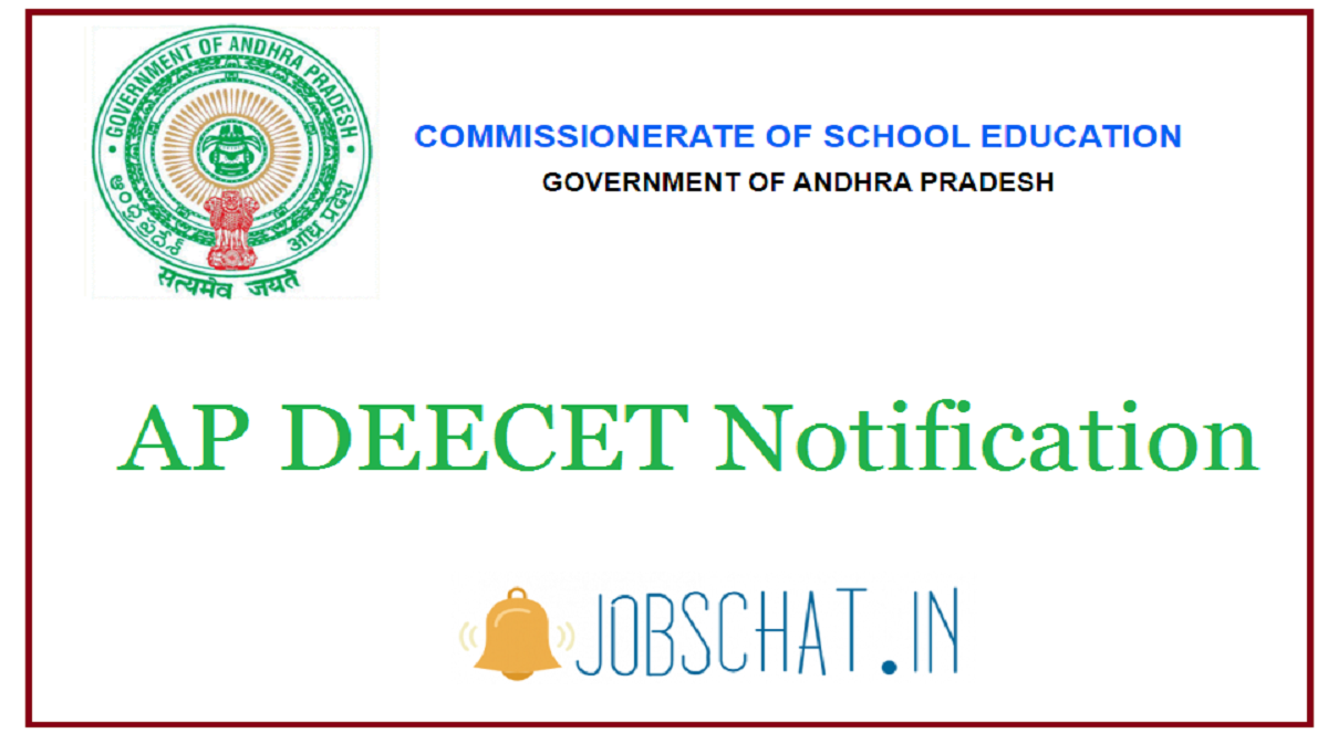 AP DEECET Notification
