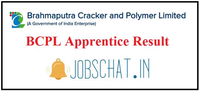 BCPL Apprentice Result