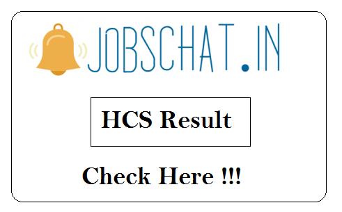 HCS Result