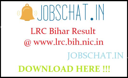 LRC Bihar Result