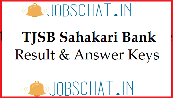 TJSB Sahakari Bank Result