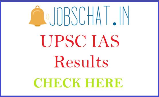 UPSC IAS Results