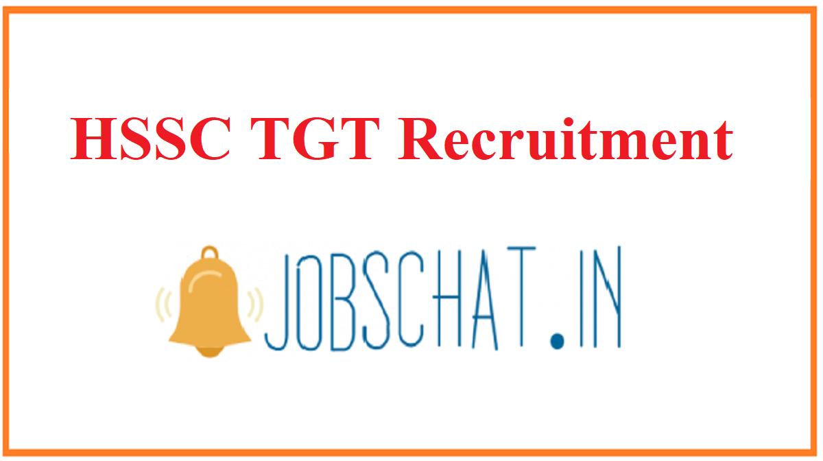 HSSC TGT Recruitment