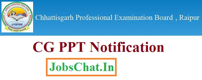 CG PPT Notification