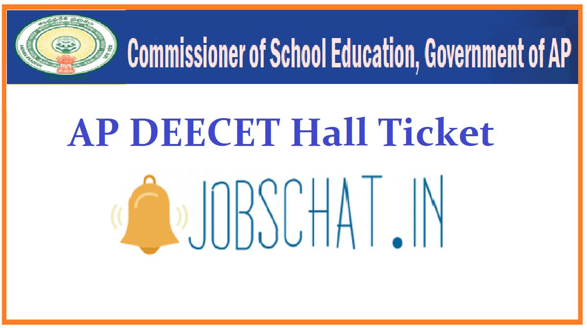 AP DEECET Hall Ticket