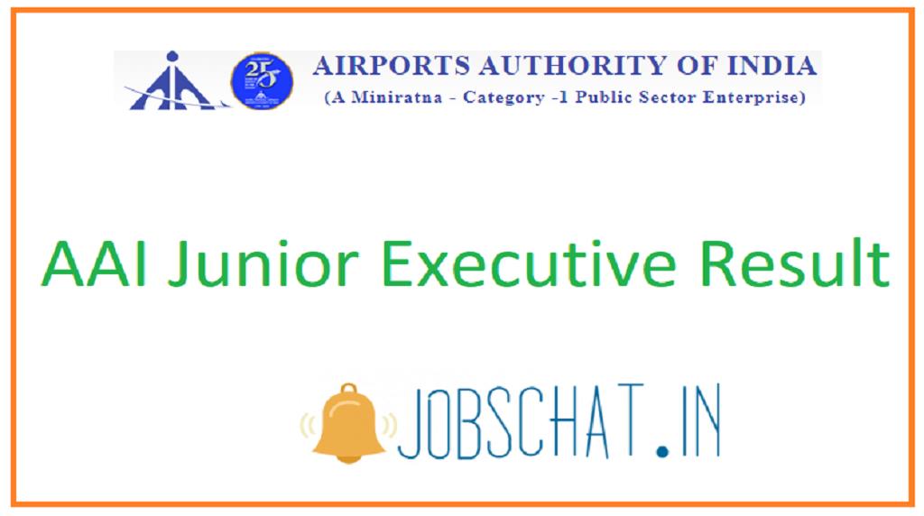 AAI Junior Executive Result