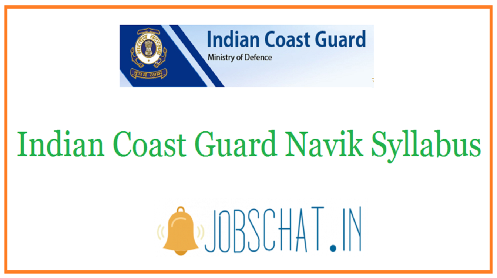 Indian Coast Guard Navik Syllabus