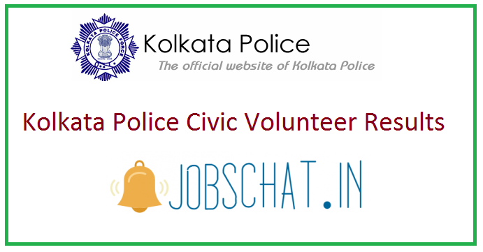 Kolkata Police Civic Volunteer Results