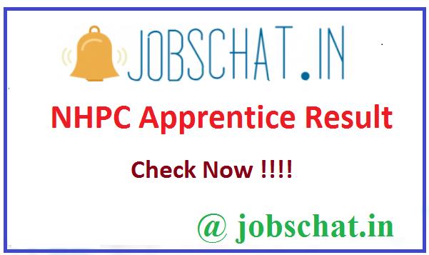 NHPC Apprentice Result