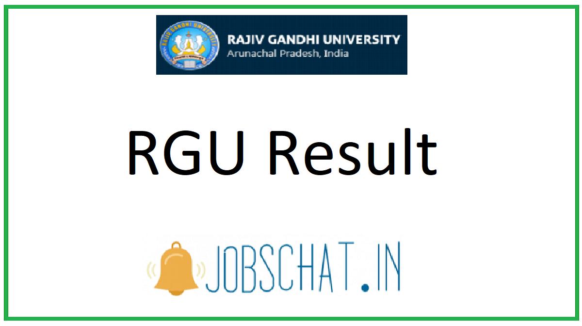 RGU Result