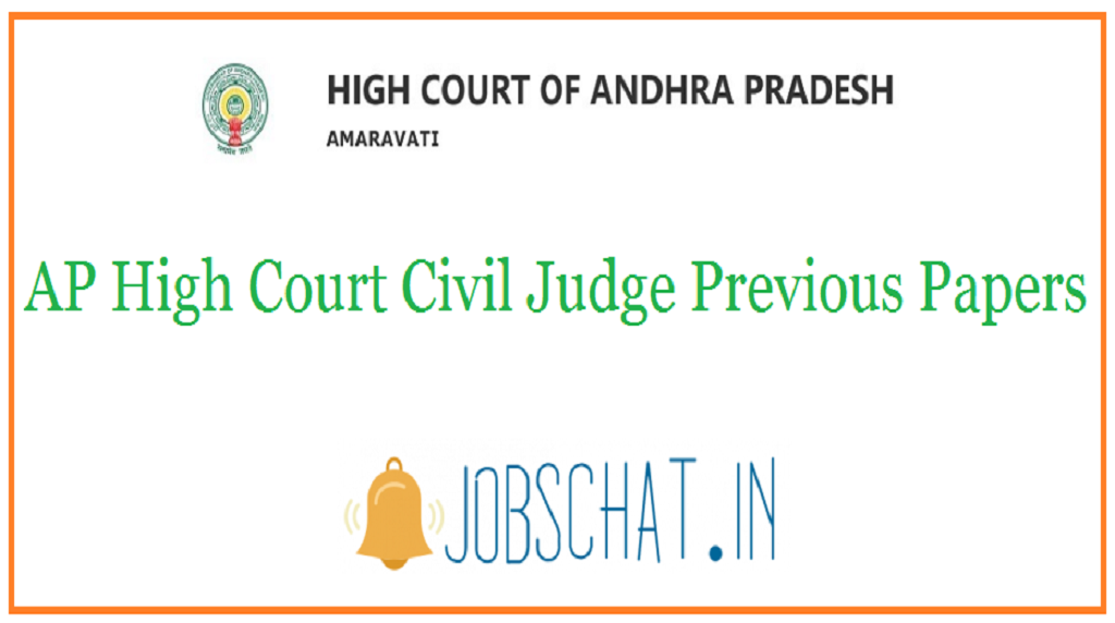AP High Court Civil Judge Previous Papers