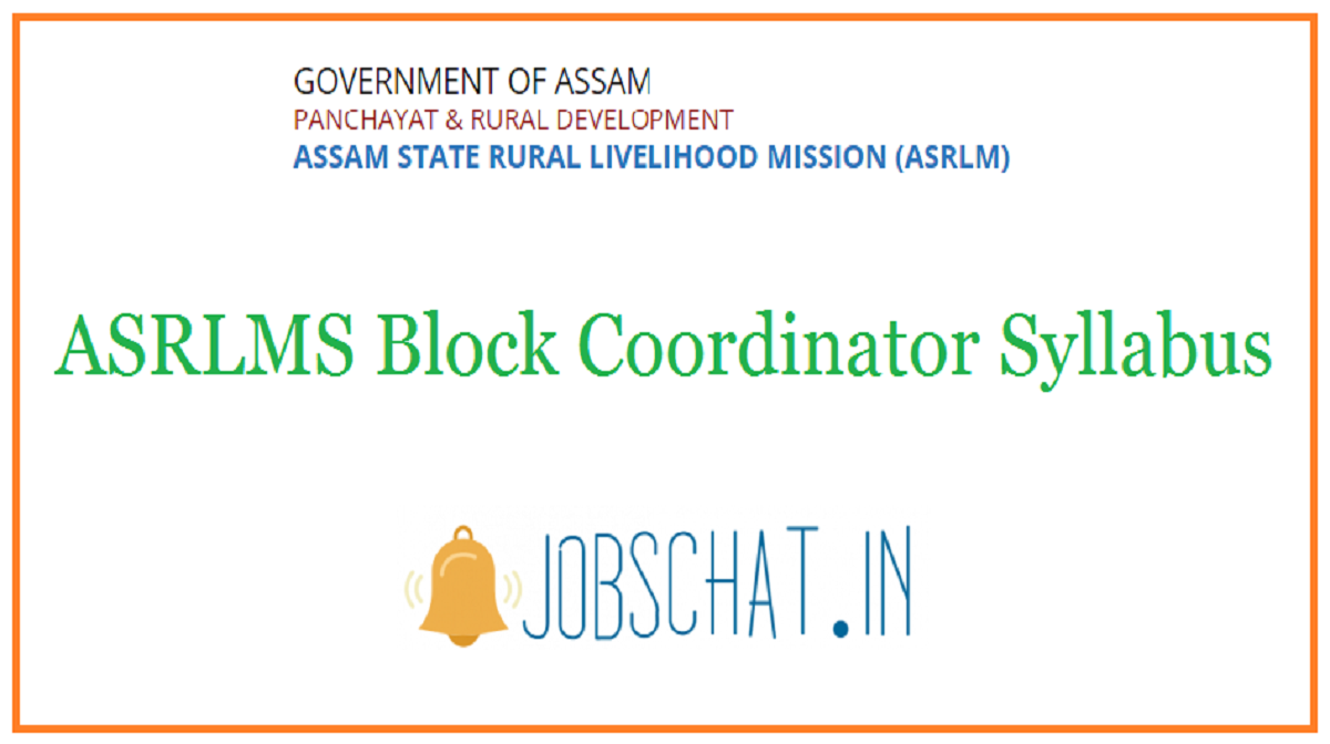 ASRLMS Block Coordinator Syllabus